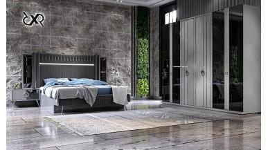 Nil Antrasit Yatak Odası Takımı