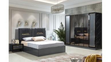 Hürrem Yatak Odası Takımı Siyah